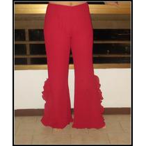 Oferta !espectacular Pantalón De Vestir Rojo .