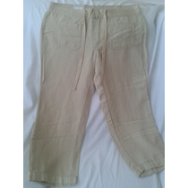 Pantalón Pescador Tommy Hilfiger Para Dama 100% Original
