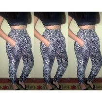 Hermoso Pantalon Animal Print Leopardo