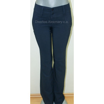 Hermosos Pantalones En Bengalina Importada Ideal Colegial