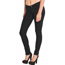 Pantalon De Color Negro Tipo Jean Importado Talla M