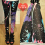 Leggings Fashion Graffiti Splash-ink Vktech®