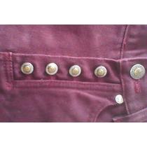Pantalon Dama Morado Cintura31cadera38largo103 Bota17