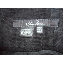 J- Pantalon De Pana Lisa Marca Zara Talla 24