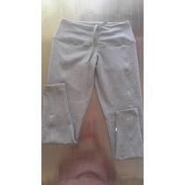 Ropa Deportiva Pantalones Leggins Y 3/4 En Cotton Licra