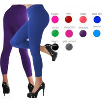 Oferta Leggins Faja Reductor De Colores Altos Levanta Cola