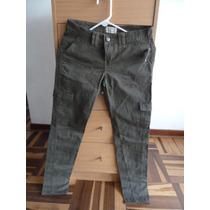 Pantalon Verdoso Talla 1-2 Aeropostale Traido De Usa