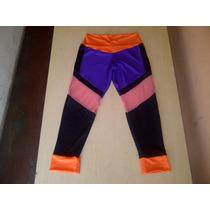 Pantalones Sport Tres Cuartos De Damas Para Gim