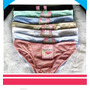Pantys Bikini Ropa Interior Para Dama Mayor Y Detal Talla S