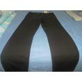 Pantalon De Color Chocolate Talla (10) Stretch