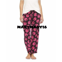Pijama Dama Pantalón Minnie Mickey Hello Kitty Originales