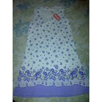 Bata -pijama De Algodon Para Damas. Dia De Las Madres Oferta