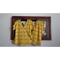 Pijamas Capri Talla 14 Talla S Jovencitas 100%algodónperuano