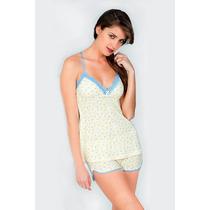 Pijamas Cortas Para Damas Estampadas Importadas
