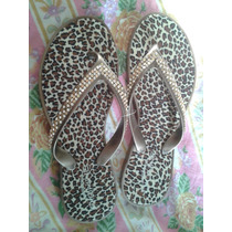 Chancletas Cholas Sandalias Animal Print