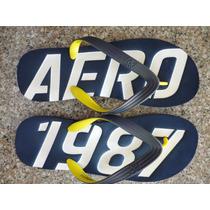 Chancletas, Cholas Aeropostale Originales Talla Xl 12/13 Us