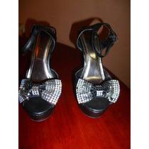 Sandalias De Plataforma De Vestir. Talla 38. Como Nuevas!!!
