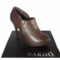 Botines Zapatos De Plataforma Y Cierre Bardo