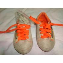 Zapatos Sifrinas Talla 23 Anaranjados