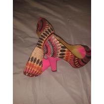 Zapatos De Mujer Traviesa Talla 36 Y Cartera A Juego