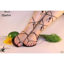 Sandalias Artesanales De Cuero