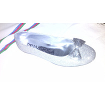 Sandalias Zapatillas Metalizadas De Dama Y Niña