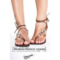 Sandalias Para Damas Y Niña De Cuero Artesanal Al Mayor