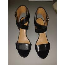 Zapatos Negros De Tacón Nine West Talla 35