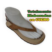 Sandalias Artesanales En Cuero De Alta Calidad