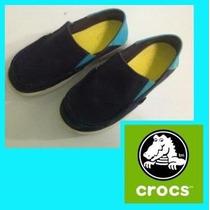 Crocs Junior Originales Mod Santa Cruz Talla J2 Talla 34-35