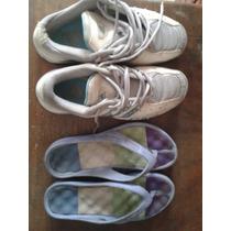 Adidas Talla 38 Y Crocs Talla 37