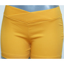 Bellos Shorts De Drill En Corte Leginns