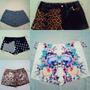 Shorts De Fiestas Y Estampados, Diferentes Tallas