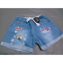 Bellisimos Shores De Jeans