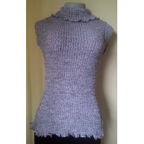 Sweaters Tejidos En Hilo Colombiano, Faralado Sin Mangas