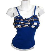 Tirito Top Blusa Straple Bellos Colores.tela Importada..!!!