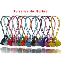 Pulseras De Borlas, Paulinas, Pau Mayor ( Docena) Nav11