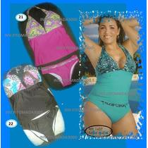 Trajes De Baño Enteros,tankini,trikini,shor Para Damas