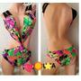 Traje De Baño Trikini Espectacular Totalmente Nuevo