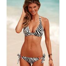 Traje De Baño Bikini Animal Print Victoria Secret