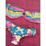 Bikini Semihilo Talla S/m Arruchado Y Strapless