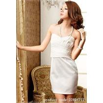 Hermoso Vestido Tipo Coctel Moda Asiatica
