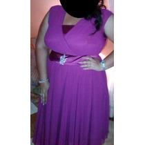 Vestido De Gordita Elegante Talla Plus