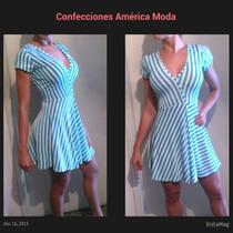 Vestidos Corte Princesa Cortos Casuales Enterizos Blusas