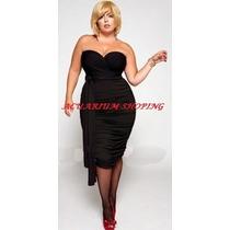 Vestido Multiuso Drapeado Coqueto Tallas Plus 2xl ,4xl, 5xl