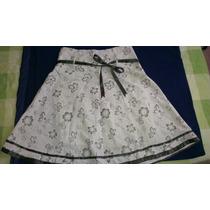 Vestido Conjunto Falda Talla L Nueva