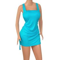Vestido Dama Algodon Viscosa Diseño Original Moda Ref: 2505