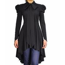 Vestido Estilo Merlina Gotico
