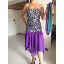 Bello Vestido Para Fiesta Talla 10