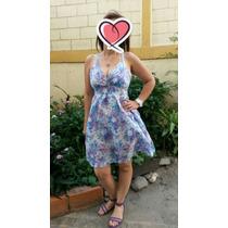 Vestido Estampado Floreado Para Dama Casual - Playero